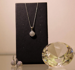 Silber-Set Diamond