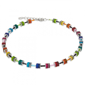 Collier multicolor coeur de lion